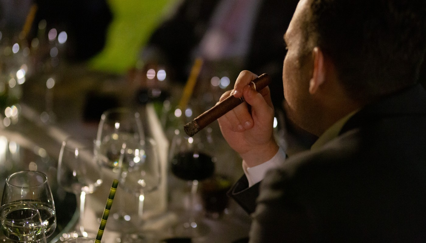 edicion limitada cigar dinner ecali club | The Food & Leisure Guide